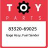 83320-69025 Toyota Gage assy, fuel sender 8332069025, New Genuine OEM Part