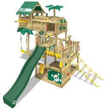 WICKEY Spielturm Klettergerüst Smart Castaway - Baumhaus mit Rutsche & Schaukel