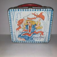 Vintage Junior Miss Metal Lunchbox 1973? No Thermos See Pics E6