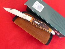 Case XX USA NIB Tony Bose TB612001 ATS-34 Yukon autumn bone folding hunter knife