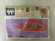 Vintage Barrette!  Exclusive Design! Unique old hard to find retro Item! NICE