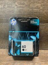 Genuine HP 60 Black Ink Cartridge Expired Oct 2019