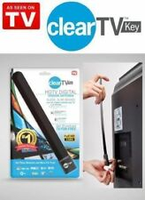 USA STOCK!! Clear TV Key HDTV FREE TV Digital Indoor Antenna 1080p Ditch Cable