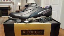 RARE! 2014 Footjoy XPS-1 Ltd Edition Mens Golf Shoes 56031 NEW Black/Sil 12W