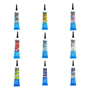 Pebeo Setacolor 3D Fabric Textile Paint Outliner Brod'Line, Brod'Perle 20ml
