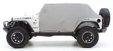 Smittybilt Custom Fit Cab Climate Cover w/ Door Flaps 07-18 4dr Jeep Wrangler JK