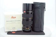 Leica VARIO-ELMAR-R 80-200mm f/4 MF 3 Cam Lens Boxed E60 S/N: 3698200