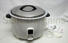 10L ELECTRIC RICE COOKER POT WARMER NON STICK COOK AUTOMATIC RICE 60 CUPS PRO