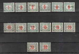 Fiume Porto Michelnummer 4 - 12 postfrisch Falz (europa:2139)