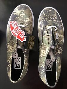 NEW RARE🔥VANS STAR WARS Boba Fett Camo Shoes Authentic Men Size 10