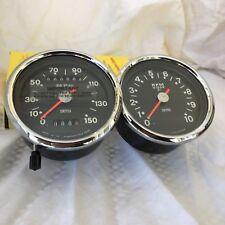 1970 1971 1972 BSA A65 Smiths 150MPH Speedometer & Tachometer 650cc Twin