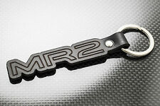 TOYOTA MR2 Leather Keyring, Keychain, Schlüsselring, Porte-clés. AW11 SW20 Turbo