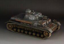 1/30 WW2 German Panzer IV Ausf D. Grey version No. 421
