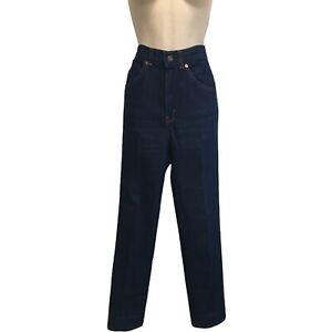 VTG Levi's Misses Jeans 80's Mom High Waist Brown Tab Copper Rivet Made In US 6