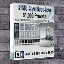 61000 FM8 Presets Pack Ableton Live Cubase Logic Pro FL Studio Bitwig Pro Tools