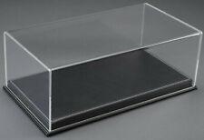 Atlantic Case Mulhouse 1:18 Acrylic Model Display Case W/ Black Leather Base