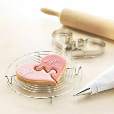 Love Heart Shape Cookies Cutter Cake Pastry Biscuit Decorating Mould Tools