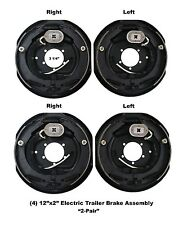 12 x 2 Electric Trailer Brake Assembly 5 Hole M. Replaces Dexter Lippert 2 PAIR