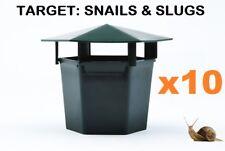 10 x Snail Slug Reusable Bait Station Eco Friendly Garden Pests Insects Trap