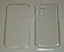 Samsung Fascinate i500 Crystal Hard Plastic Case CLEAR