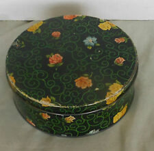 "circa 1900 VICTORIAN EDWARDIAN Art Nouveau-Arts & Crafts Tin 7-1/4"" x 2-1/2"""