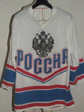 MAGLIA SHIRT TRIKOT ICE HOCKEY GHIACCIO MATCH WORN RUSSIA n°29