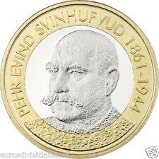 5 euros commémorative FINLANDE 2016  Président Pehr Evind Svinhufvud 1861-1944