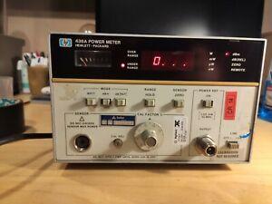 HP 436A Power Meter multimetro spettro