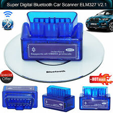 Adaptador Bluetooth Android Torque Super Mini V2.1 OBD2 New4 Reino Unido Escáner OBDII Auto