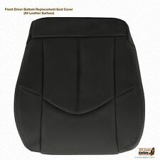 1999-2003 Lexus RX300 Driver Bottom Replacement Leather Seat cover color Black