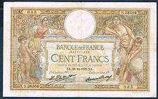 FRANCE - 100 FRANCS L.O MERSON Fay n° 24.11 du 29=12=1932.NA en TTB S.38509 035