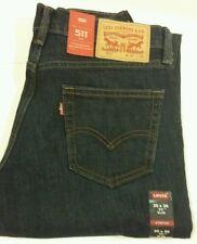 Levi's Men's 511 Slim Stretch Jeans 30 x 30 blue authentic new