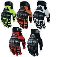 Sommer Motorradhandschuhe Handschuhe für Motorrad Radfahren Handschuhe Gr XS-3XL