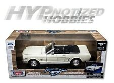 MOTOR MAX 1:24 1964 1/2 FORD MUSTANG LIMITED EDITION DIE-CAST WHITE 73212