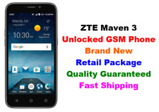"NEW Unlocked GSM AT&T T-Mobile ZTE Maven 3 Z835 4G LTE 5"" Android 7.1 8GB 5MP"