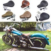 Motorcycle Spring Solo Bracket Seat For Harley Davidson Sportster Chopper Bobber
