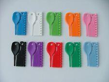 SPLIT RINGS - 100 -  3mm split plastic bird rings