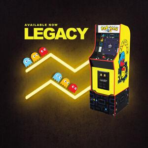 Arcade1Up | UK EXCLUSIVE | Pacman Bandai Legacy Edition with 12 Games Retro Rare