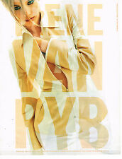 PUBLICITE ADVERTISING 035  1996  IRENE VAN RYB  haute couture