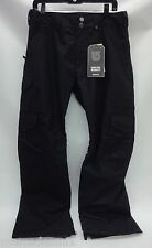 Burton Mens Cargo Snowboard/Ski Pants 101871 True Black Size Small/Short Length