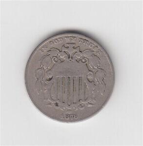 1876 U.S. Shield Nickel *NICE DETAIL* 5c US coin