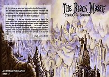 149 - THE BLACK MASSIF - Stan Sargent - Zothique story. Clark Ashton Smith