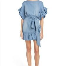 Isabel marant etoile delicia denim dress EXCELLENT CONDITION! sz 38