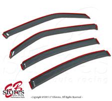 For Chevrolet HHR 2006-2011 Inner Channel Ash Grey JDM Window Visors 4pcs