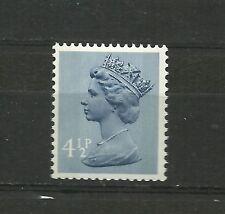 Gran Bretaña Maquna 4.5p FCP Dex 2B Harrison de 45P libro británico moneda n3 Estampillada sin montar