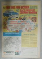 Kellogg's Cereal Ad: Win a Ford Victoria Contest! From 1952 Size: 11 x 15 inches