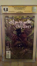 Batman The Dark Knight #4 CGC 9.8 AUTOGRAPHED by DAVID FINCH & PAUL JENKINS