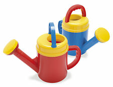 DANTOY ROBUST KIDS CHILDRENS WATERING CAN round blue or red play watering can