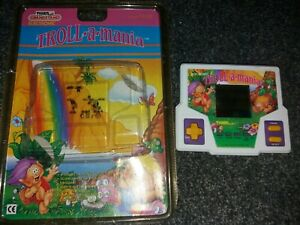 Troll-A-Mania - Vintage LCD Electronic Handheld Retro Game Grandstand 1988