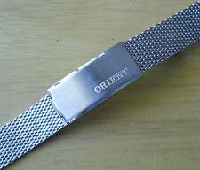 Orient Bracelet NOS Ladies Orient Sharks Mesh Bracelet Pulsera Correa 12 mm S/S
